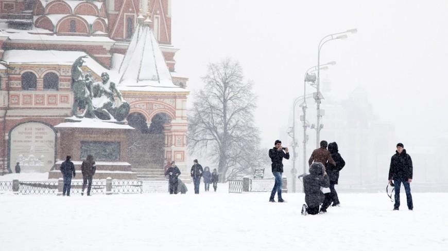 Весенний снегопад в Москве побил рекорд 1895 года