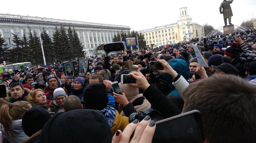 Кемеровчане требуют создать мемориал на месте сгоревшего ТЦ