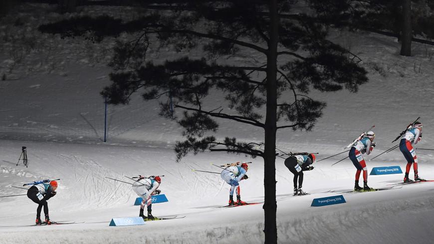 Российские биатлонисты взяли все медали в гонке на юниорском ЧМ