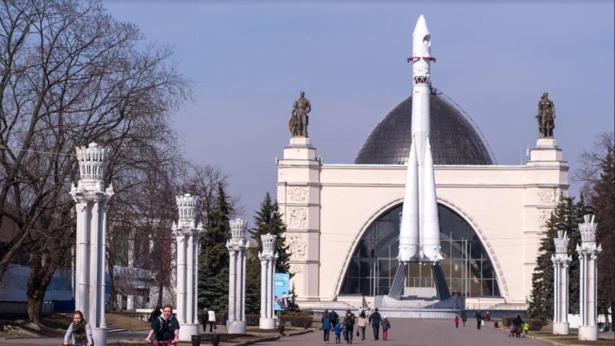 На ВДНХ завершили реставрацию павильона «Космос»