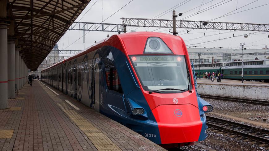 «Наземное метро» Москвы получит новейшие поезда «Иволга»