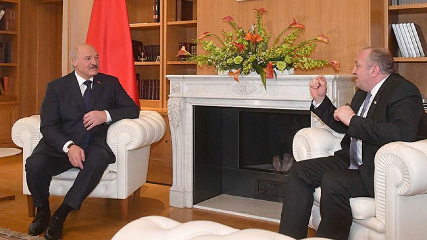 Лукашенко: У Беларуси нет закрытых тем в сотрудничестве с Грузией