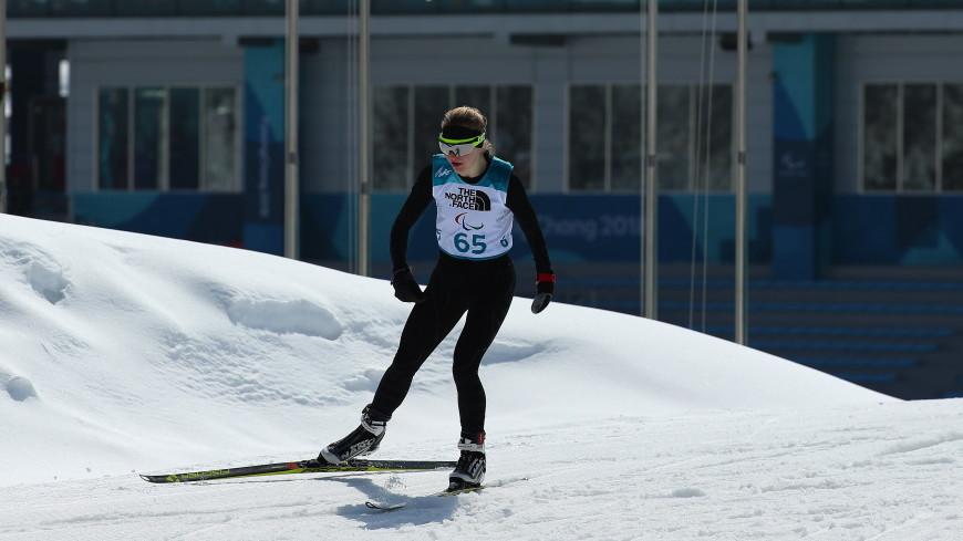 Россиянки завоевали золото и серебро на паралимпиаде в Пхенчхане