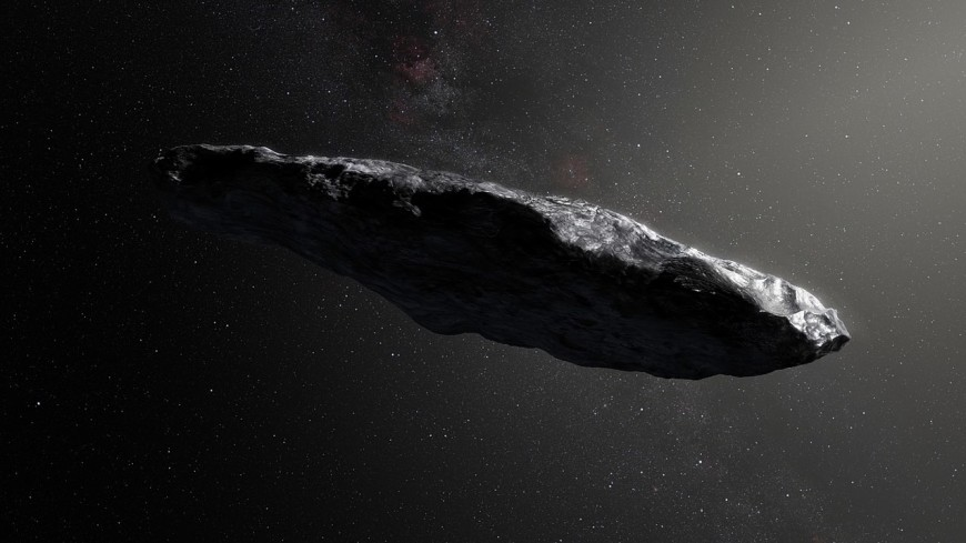 Стало известно, откуда прилетел «астероид-сигара»