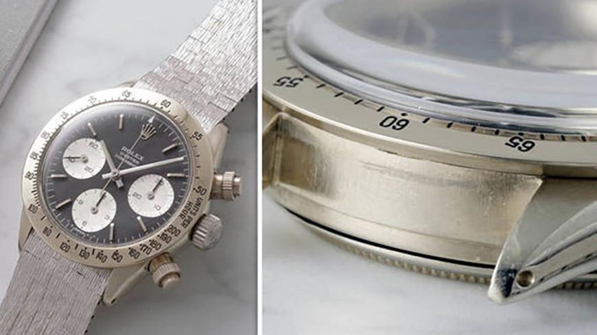 Уникальные часы из 18-каратного золота выставили на аукцион