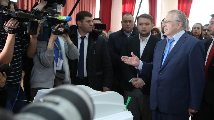 Экзитпол: Жириновский только третий