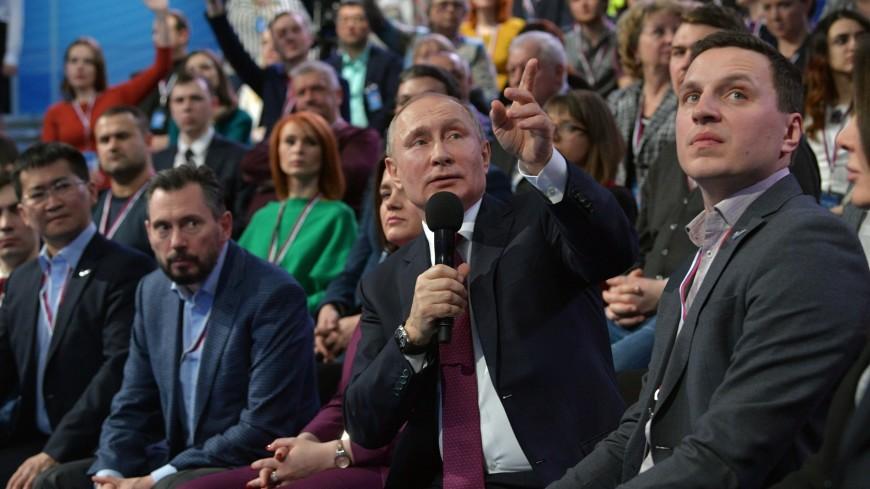 Путин предложил превратить сбор мусора в доходный бизнес