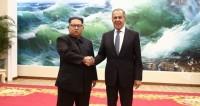 Лавров стал первым россиянином, который встретился с Ким Чен Ыном