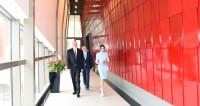 Новое здание комплекса имени Гейдара Алиева открыли в Баку