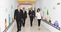 Ильхам и Мехрибан Алиевы открыли жилой комплекс «Гобу Парк»