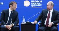Встреча на Неве: о чем говорили Путин и Макрон