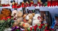 Патриарх возложил цветы к мемориалу жертвам «Зимней вишни»