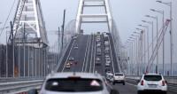 Поехали! Крымский мост наводнили легковушки и автобусы