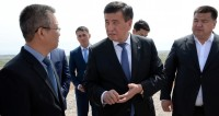 Жээнбеков пообещал улучшить качество жизни каждого сельчанина