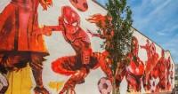 Все краски футбола: Москву в преддверии ЧМ украсили граффити