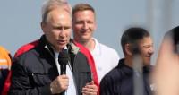 Путин рассказал о значении открытия Крымского моста для юга России