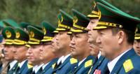 В Бишкеке прошел праздничный митинг в честь Дня пограничника