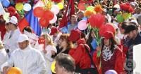 Мир, труд, май. Шествие в Нальчике собрало тысячи горожан