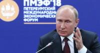 Выступление Владимира Путина на ПМЭФ-2018 (ВИДЕО)