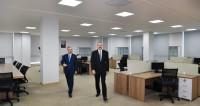 Ильхам Алиев открыл новое административное здание партии «Ени Азербайджан»