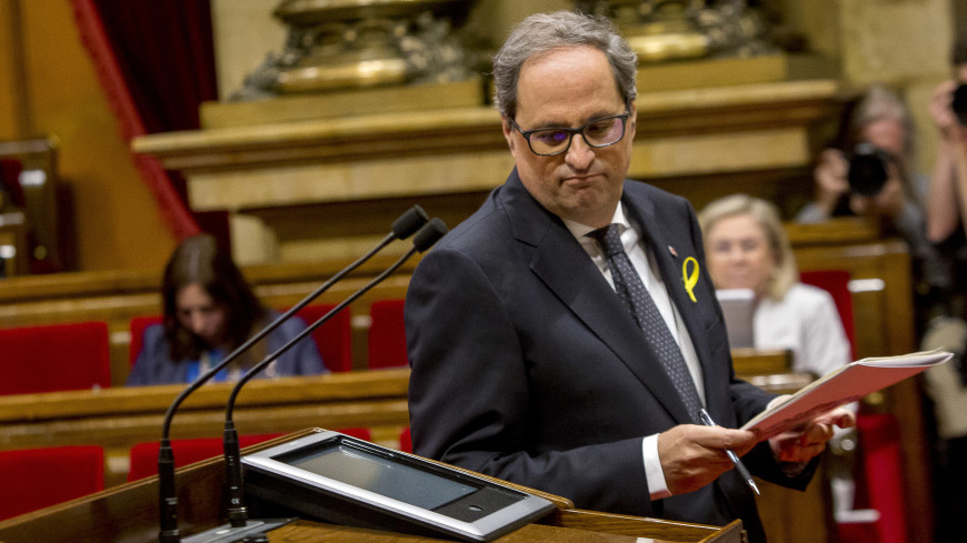 Новый глава Каталонии хочет наладить диалог с Мадридом