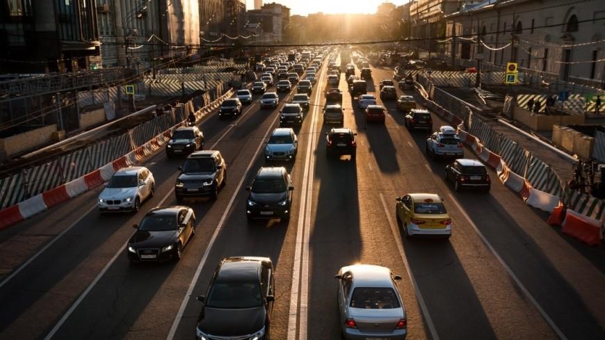 В Москве на лето огранили движение транспорта из-за ремонта сетей