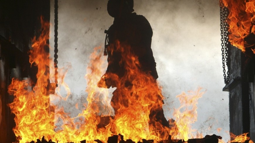 "Фото: Cpl. Melissa Tugwell, ""Минобороны США"":http://www.defense.gov/, огонь, пожар, пожарные, пожарные сша"