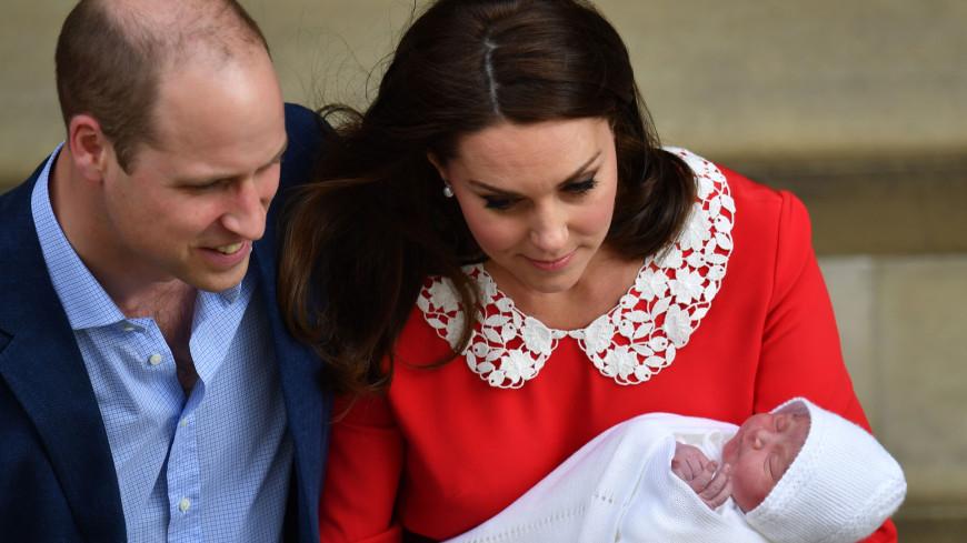 Новорожденный британский принц Луи получил свой первый документ