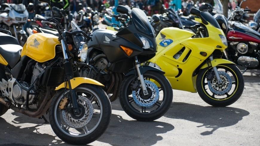 Московским мотоциклистам напомнили о ПДД в связи с открытием сезона