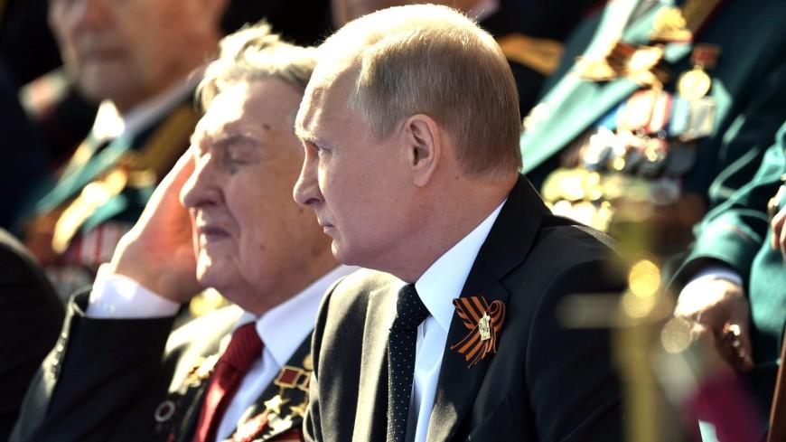 Путин подписал указ о праздновании 75-летия Победы