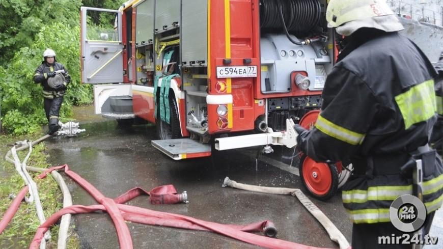 Семья из четырех человек погибла при пожаре в доме в Омске