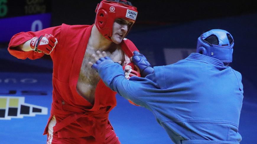 Российские самбисты за один день завоевали три золота чемпионата Европы