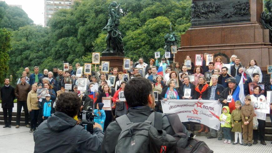 Память без границ: Как проходил Парад Победы в столице Аргентины