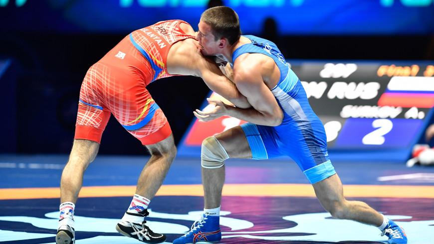 Артем Сурков завоевал золото чемпионата Европы по греко-римской борьбе