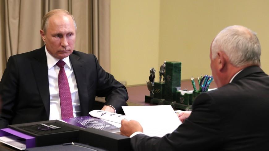 Путин призвал наладить поставки газотрубинных агрегатов для кораблей