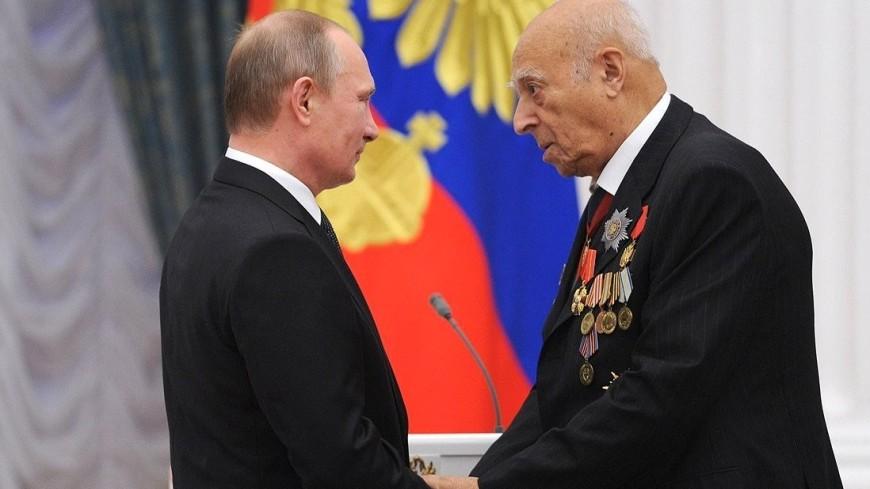 Путин отметил умение Владимира Этуша быть убедительным в каждой роли