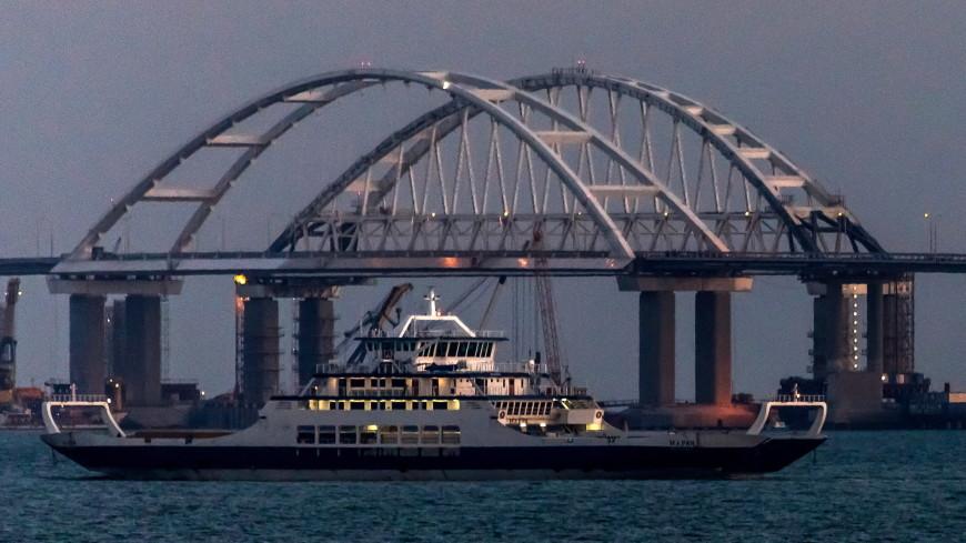 Заказчик Крымского моста принял автодорожную часть