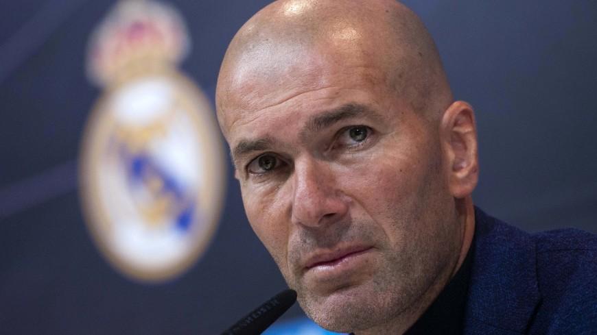 Зидан ушел с поста тренера мадридского «Реала»