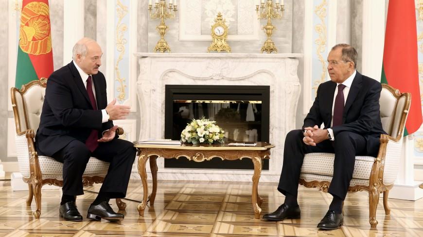 Лукашенко и Лавров обсудили в Минске отношения двух стран с ЕС и НАТО