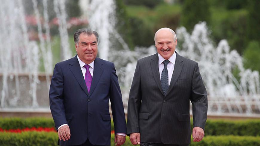 Лукашенко: Беларусь и Таджикистан связывают дружественные отношения