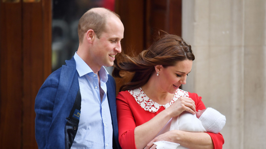 Маленький принц: опубликованы первые фото новорожденного Луи