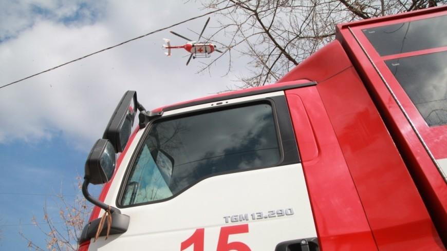 Авиация МЧС сбросила на горящий полигон в Удмуртии 53 тонны воды