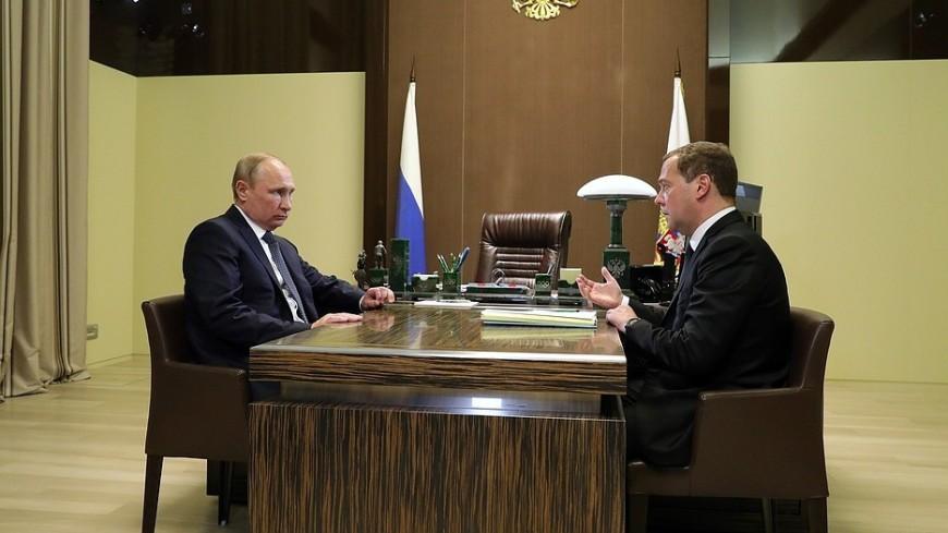 Песков: Медведев представит Путину кандидатуры министров