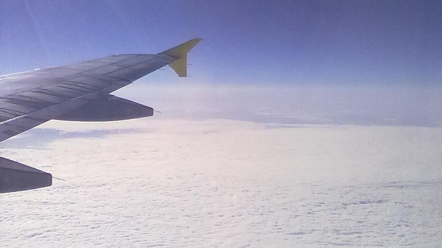 В небе над Петербургом засекли НЛО