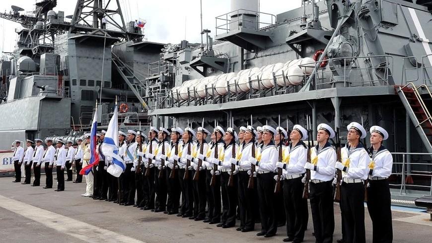 Российские корабли с ракетами «Калибр» будут нести вахту в Средиземном море