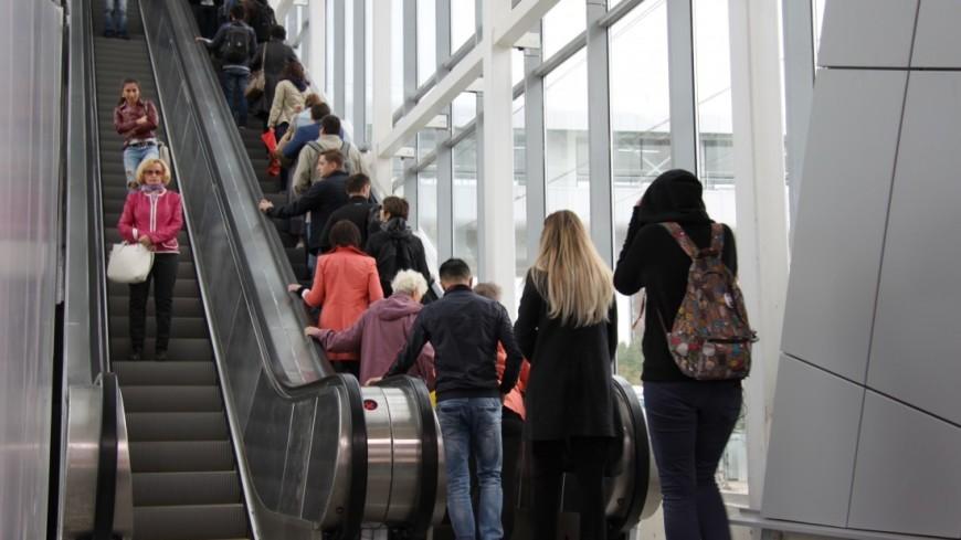 Москвичи в День Победы массово пересели на общественный транспорт