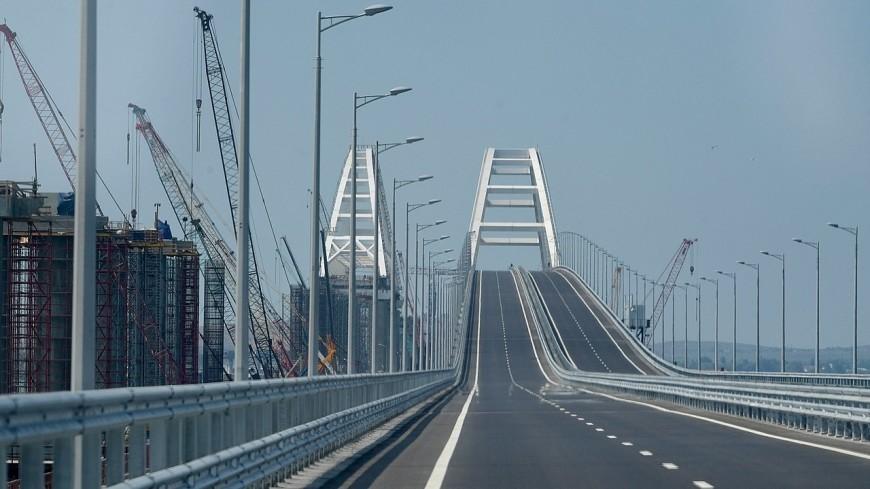 Названо самое частое нарушение ПДД на Крымском мосту