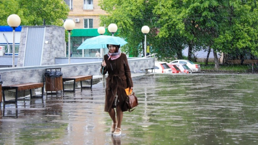 Москвичи делятся фотографиями града в соцсетях