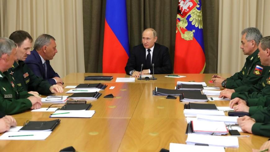 Путин: Новое оружие России обеспечит баланс в мире на десятилетия вперед