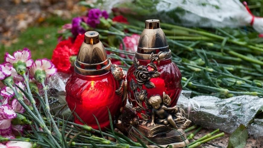 "Фото: Анна Тимошенко, ""«МИР 24»"":http://mir24.tv/, цветы, траур, свечи"